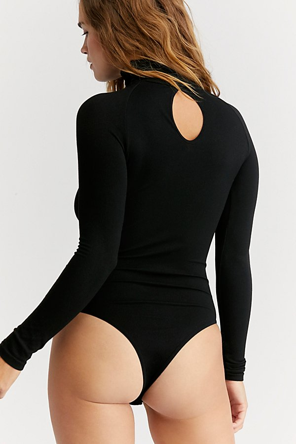 Slide View 3: Seamless Turtleneck Bodysuit