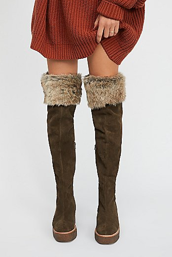 Alps Over-The-Knee Boot