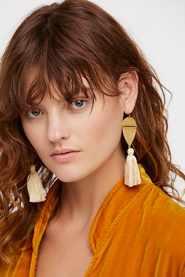 Slide View 4: Island Hopping Tassel Earring