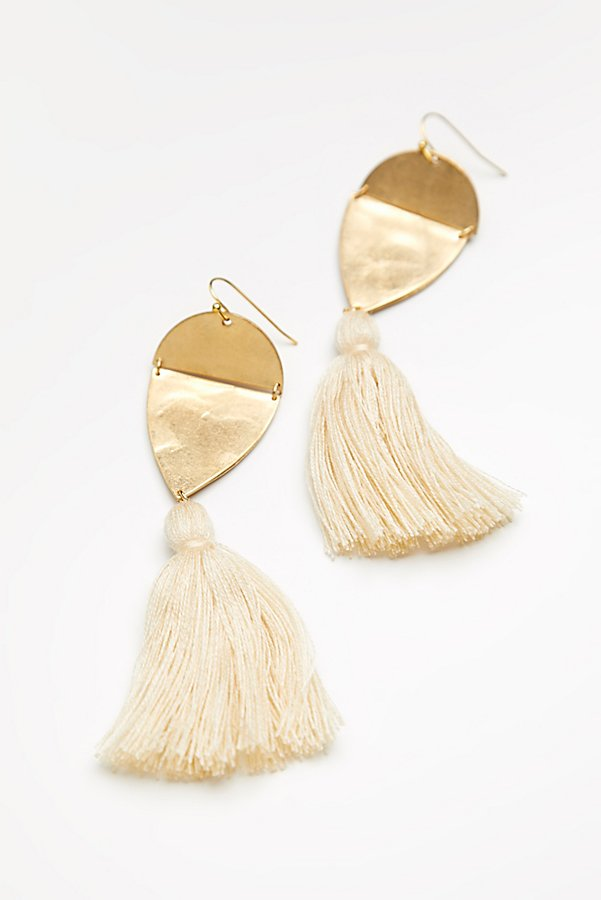 Slide View 3: Island Hopping Tassel Earring