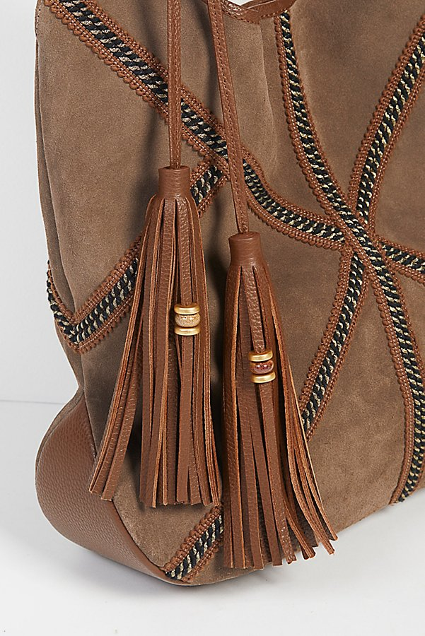 Slide View 4: Mali Suede Hobo