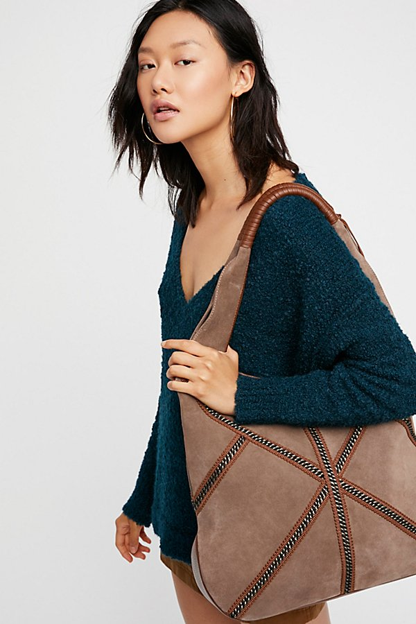 Slide View 6: Mali Suede Hobo
