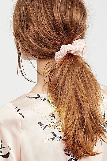 Pleated Scrunchie