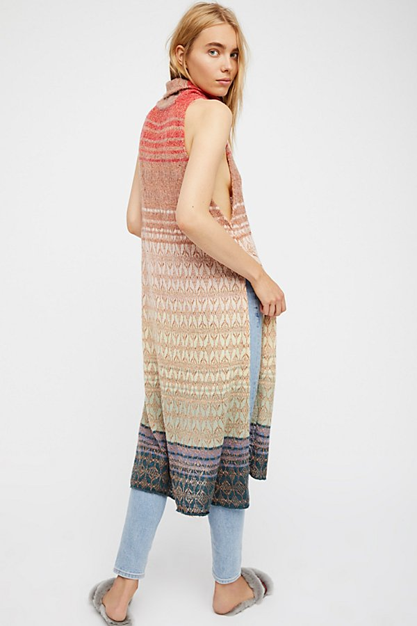 Slide View 2: Rose Gold Rainbow Tunic