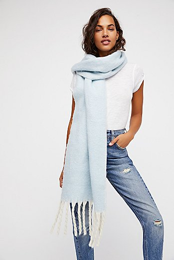 Kensington Brushed Herringbone Scarf