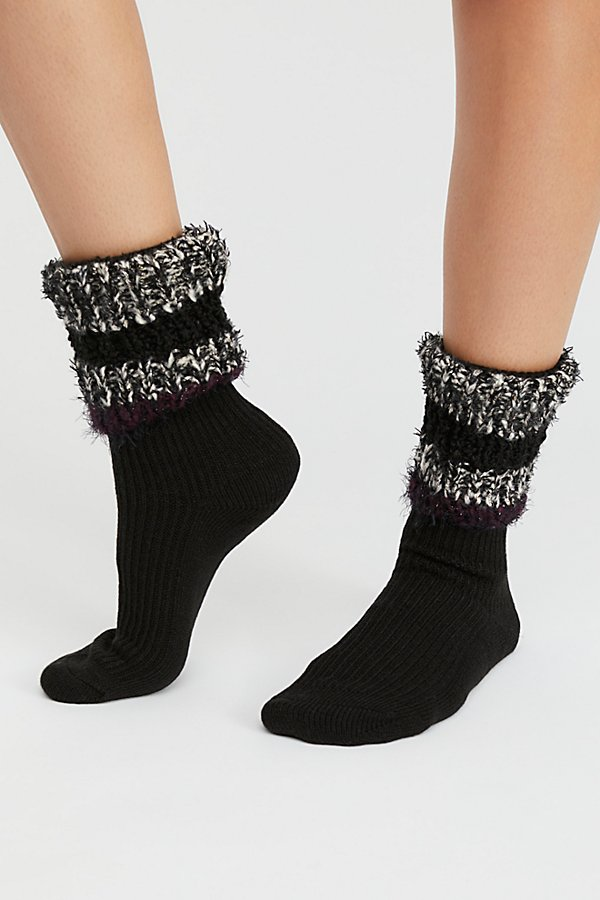 Slide View 1: Glacier Boot Topper Crew Sock