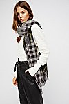 Thumbnail View 1: Check Yourself Patchwork Plaid Scarf