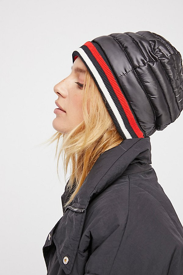Slide View 3: Soho Puffer Beanie