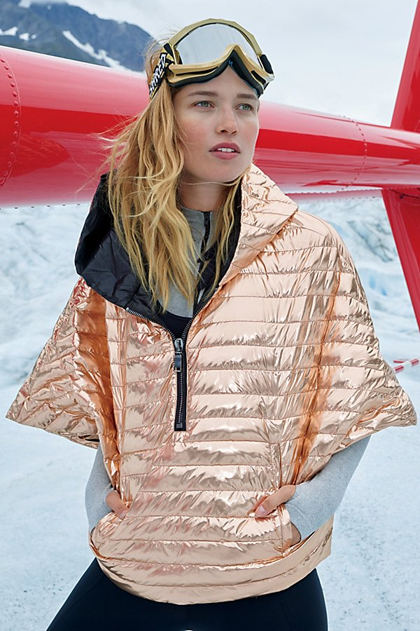 Slide View 1: Lexington Cropped Puffer Cape