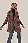 Thumbnail View 1: Naiomi Check Peacoat