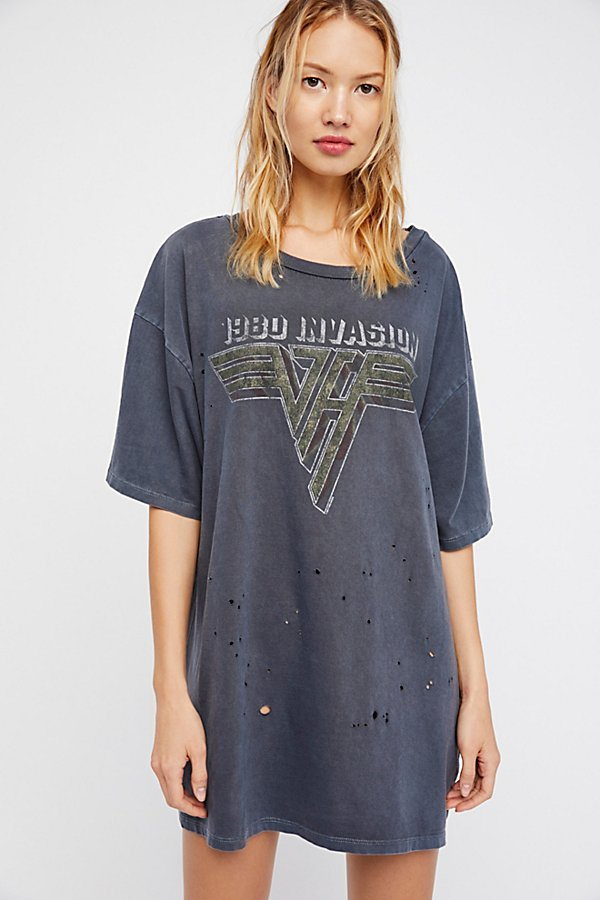 Slide View 1: Van Halen Distressed Tee
