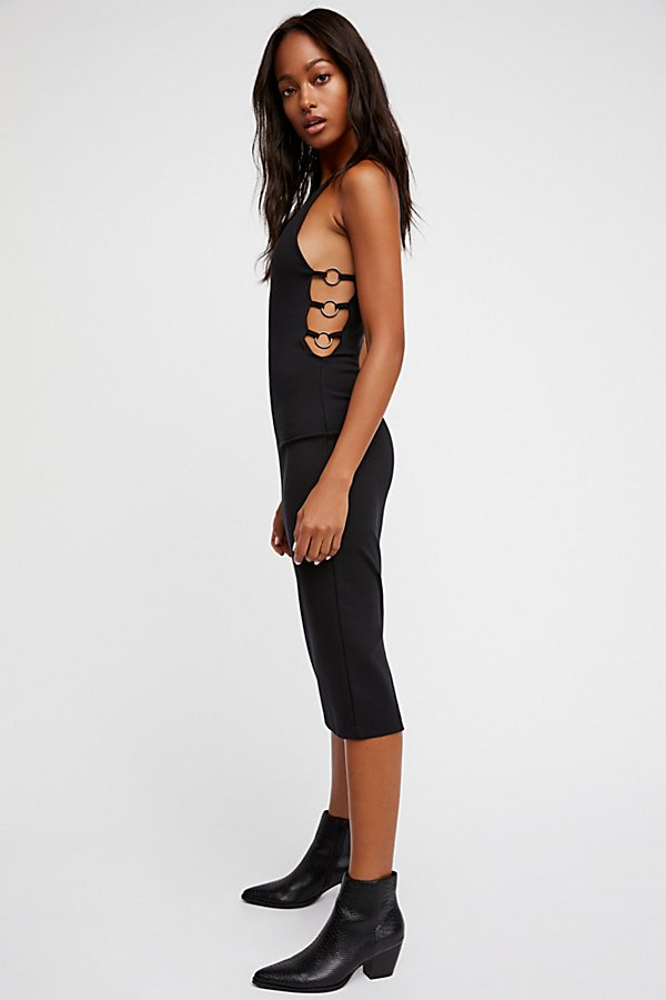 Slide View 1: Into The Night Midi Dress