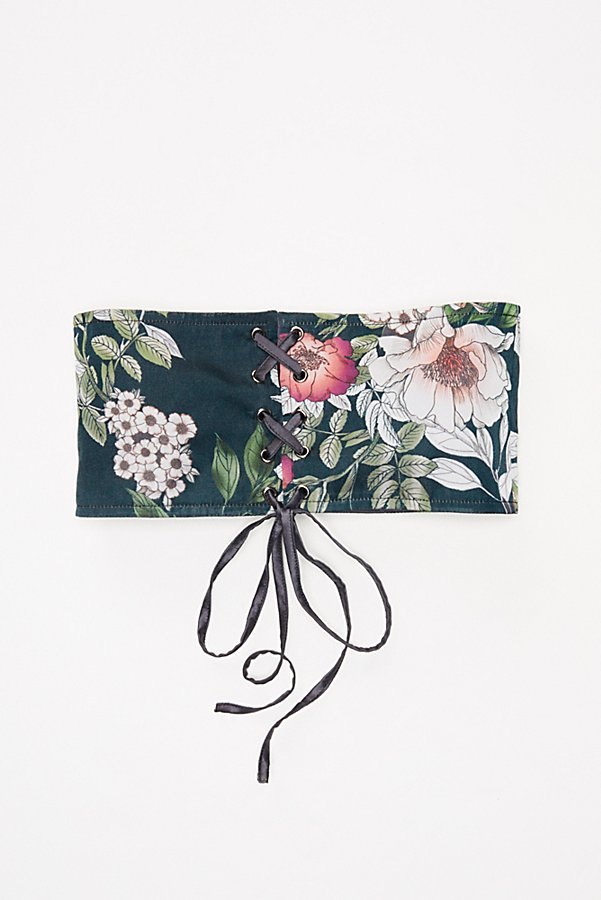 Slide View 3: Talula Floral Corset Belt