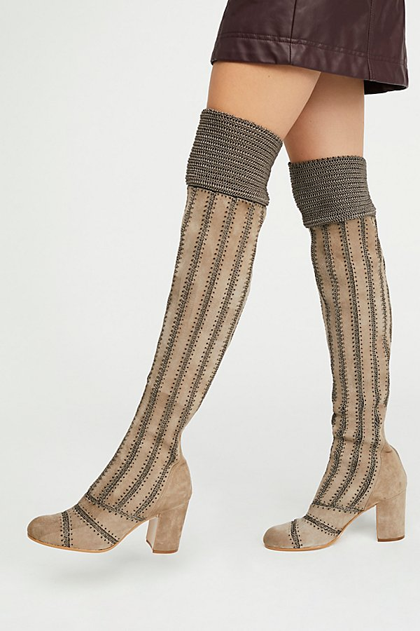 Slide View 1: Elise Over-The-Knee Boot