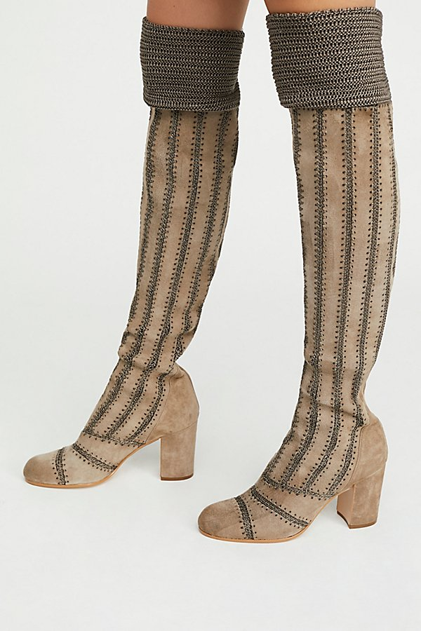 Slide View 2: Elise Over-The-Knee Boot