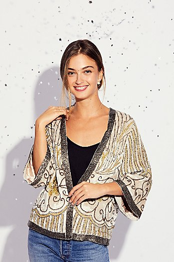 Elsa Sequin Jacket