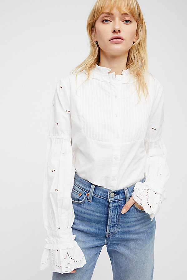 Slide View 2: Abigail Embroidered Blouse