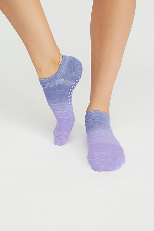 Slide View 2: Ombre Grip Yoga Sock