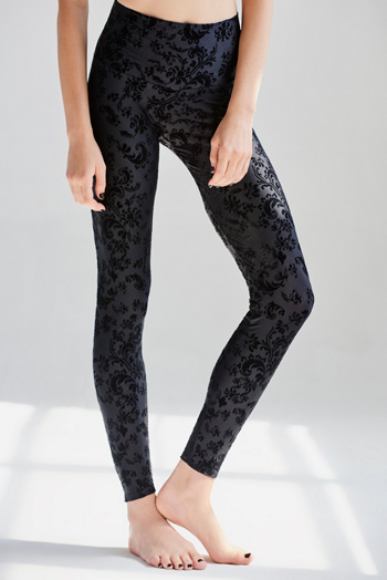 Slide View 2: Flocked Legging