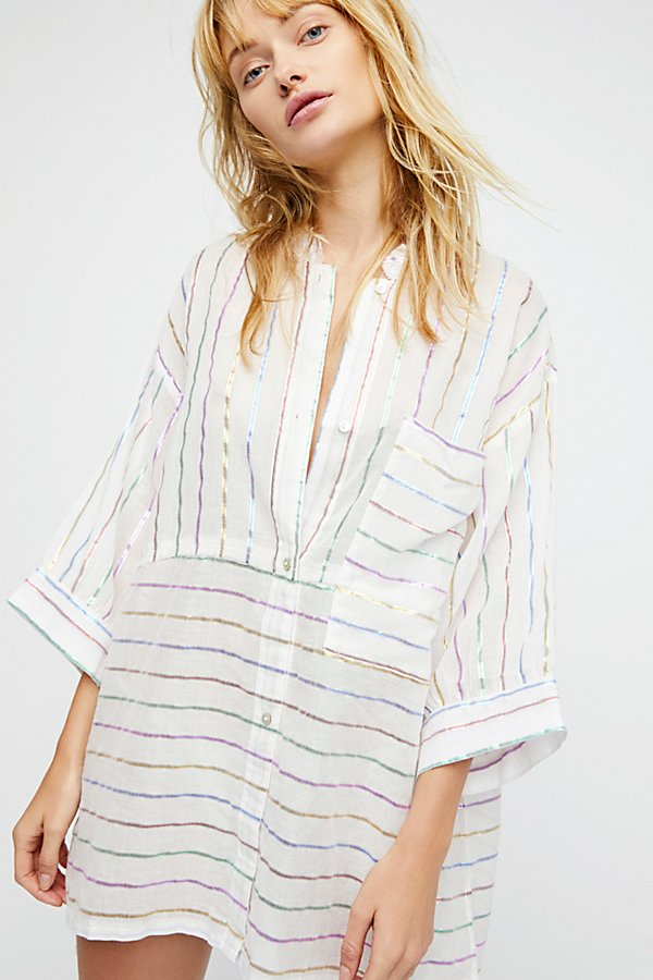 Slide View 1: Breakfast in Bed Lurex Sleep Shirt