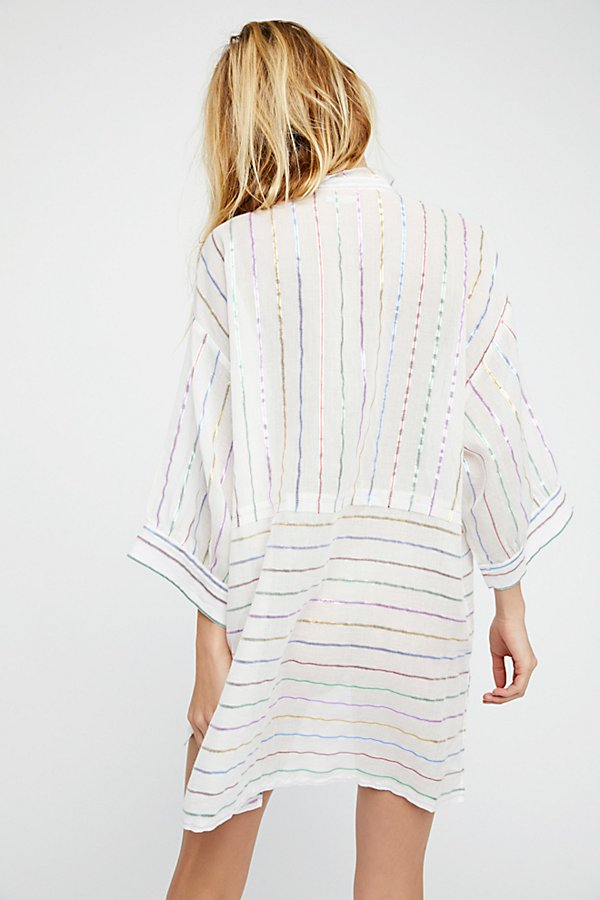 Slide View 2: Breakfast in Bed Lurex Sleep Shirt