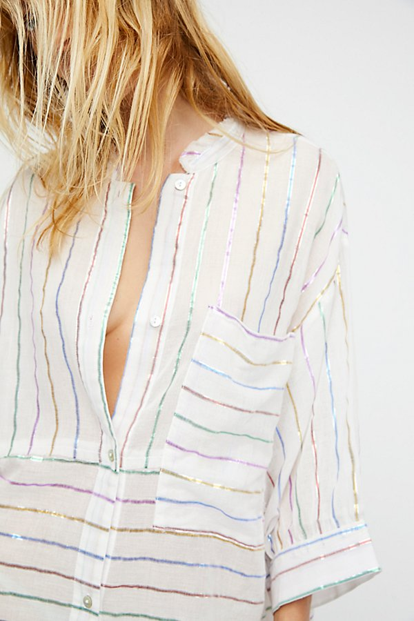 Slide View 4: Breakfast in Bed Lurex Sleep Shirt