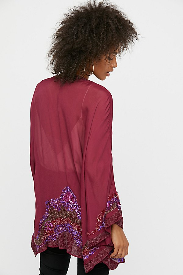 Slide View 2: Time To Shine Embellished Kimono