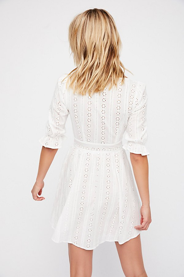 Slide View 3: Cotton Eyelet Dress