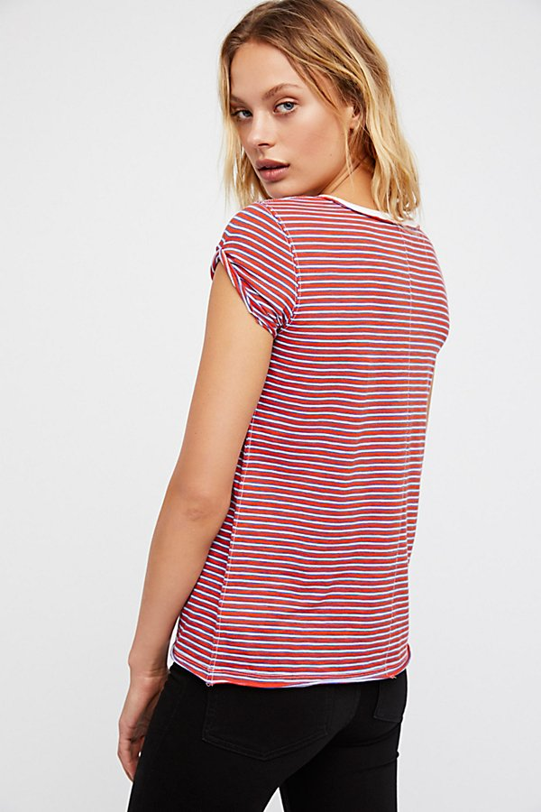 Slide View 2: We The Free Stripe Clare Tee