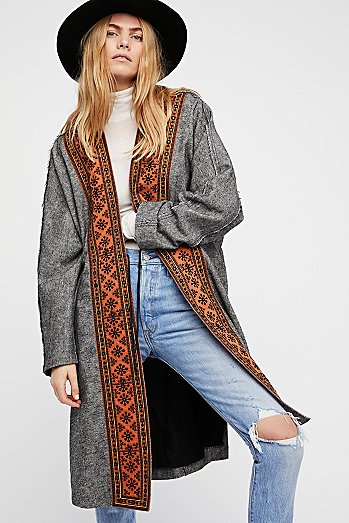 Nomad Embroidered Duster
