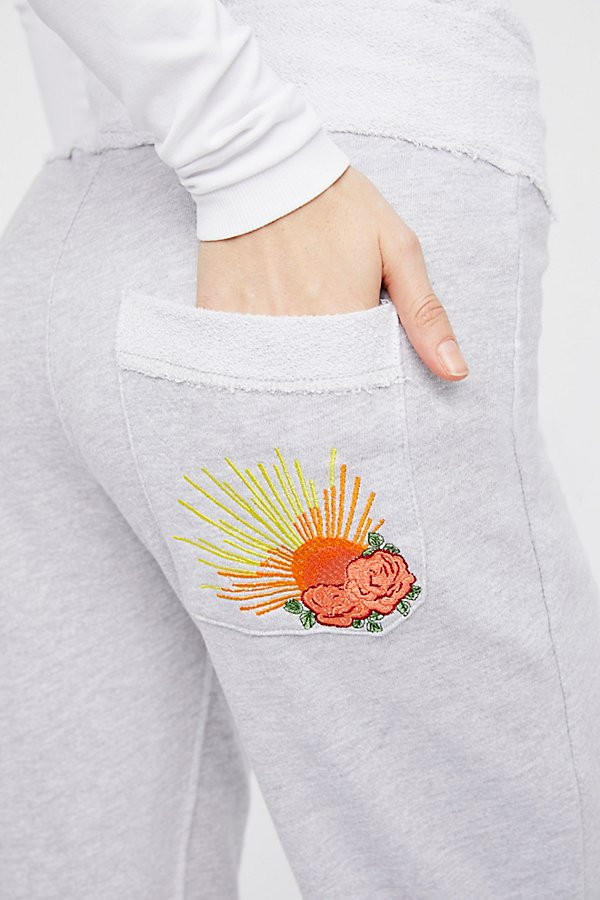 Slide View 3: Savannah Sunray Embroidered Sweatpants