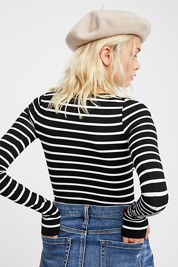 Slide View 4: Seamless Stripe Layering Top