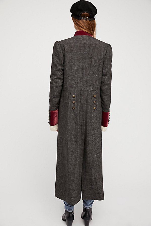Slide View 4: Menswear Maxi Duster