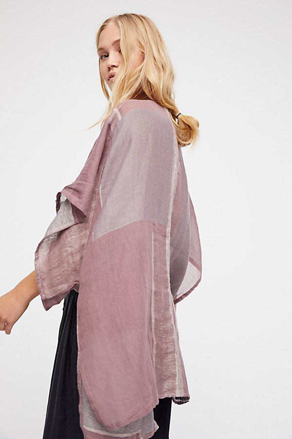 Slide View 1: High Tide Patchwork Kimono