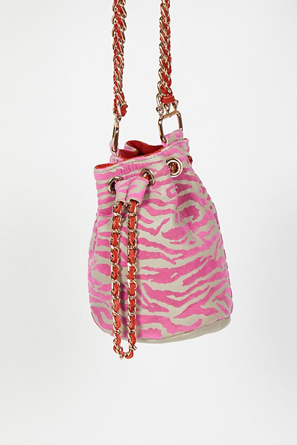 Slide View 2: Jett Leather Bucket Bag
