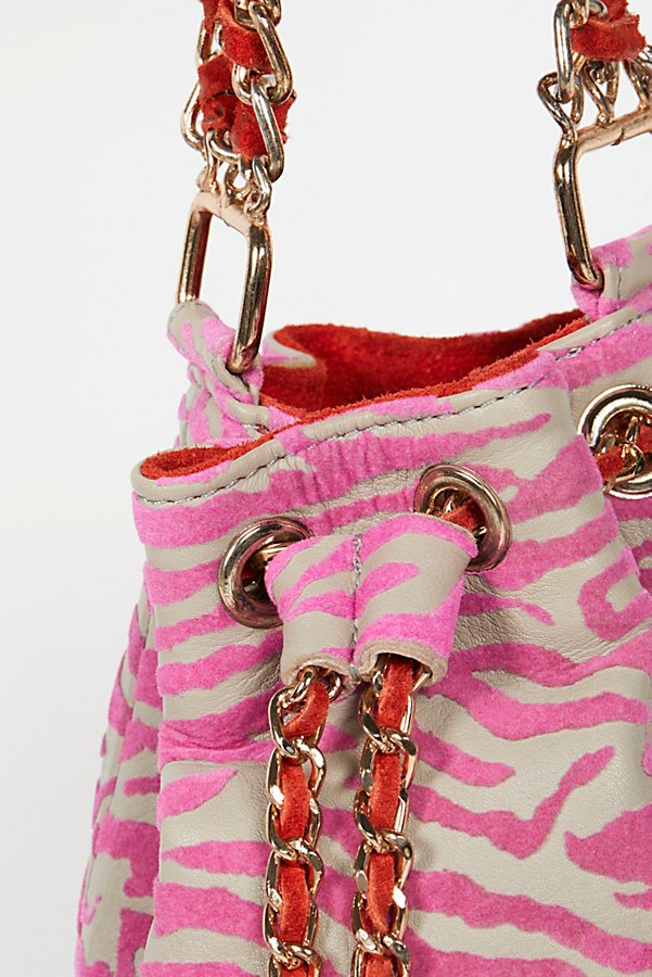 Slide View 3: Jett Leather Bucket Bag