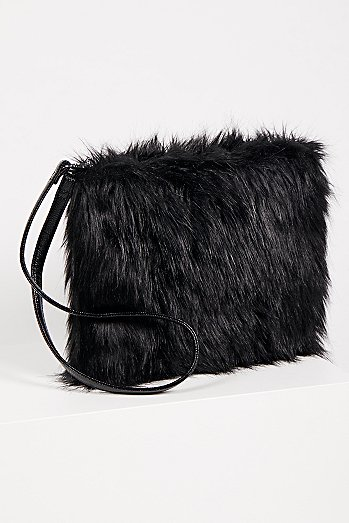 Ziggy Faux Fur Clutch