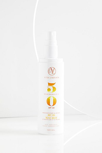 Passionfruit and Argan Dry Oil SPF 50
