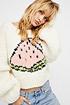 Thumbnail View 3: Watermelon Crop Pullover