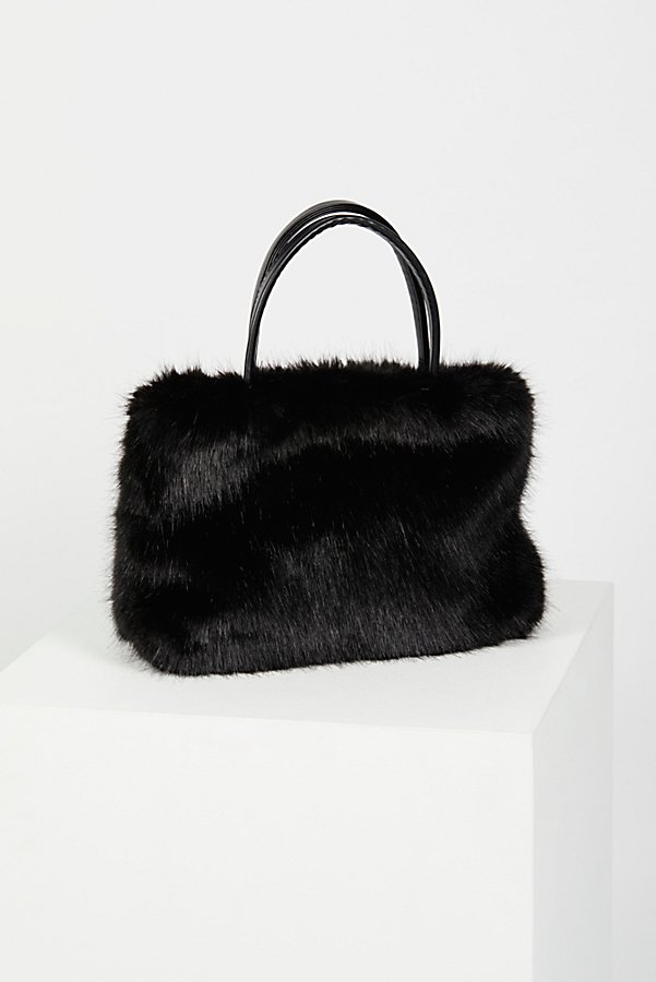 Slide View 3: Rosa Faux Fur Tote