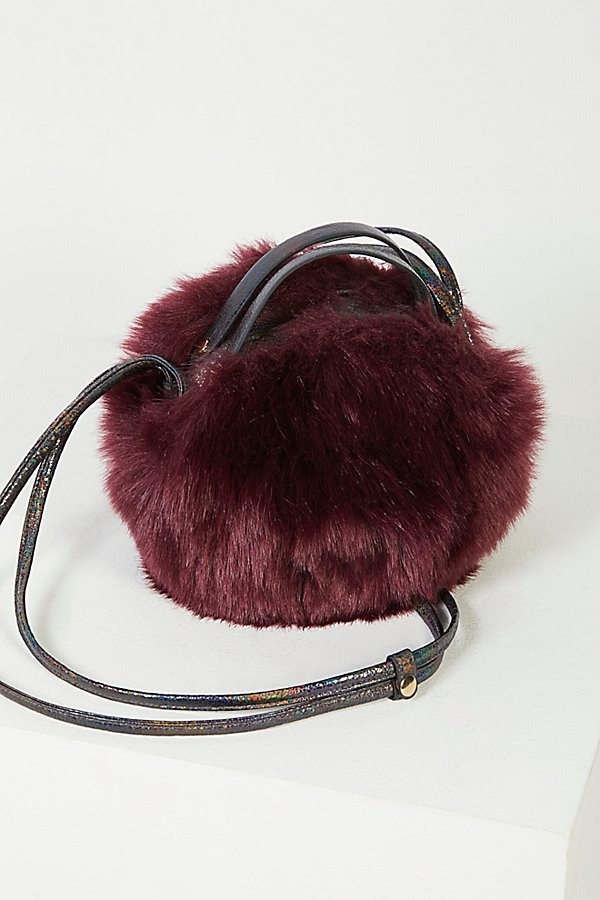 Slide View 4: Cleo Faux Fur Crossbody
