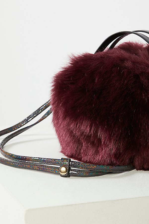 Slide View 5: Cleo Faux Fur Crossbody