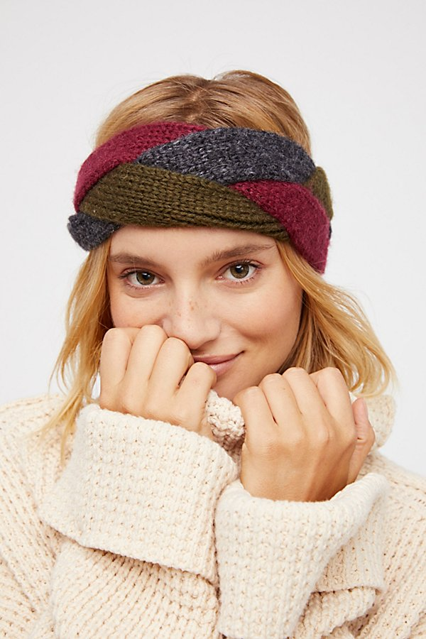 Slide View 1: Coco Braided Knit Headband