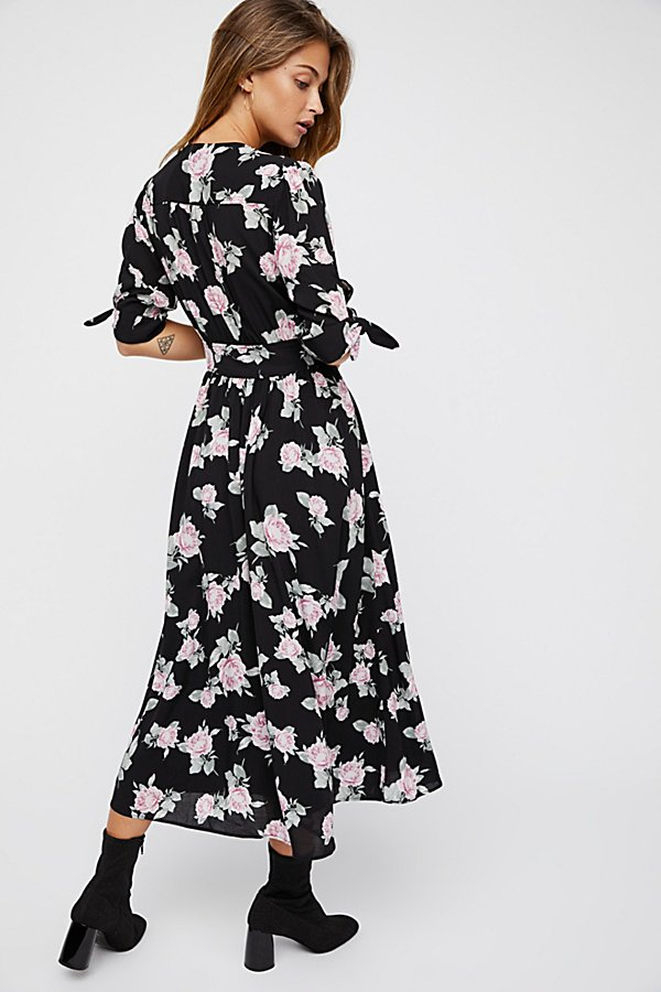 Slide View 3: Printed Love of My Life Midi Dress