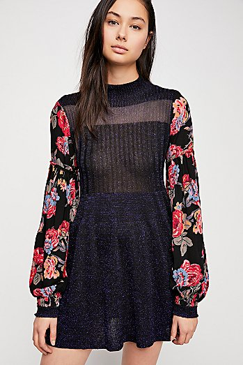 Rose And Shine Sweater Dress