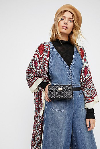 Luna Quilted Pocket Belt