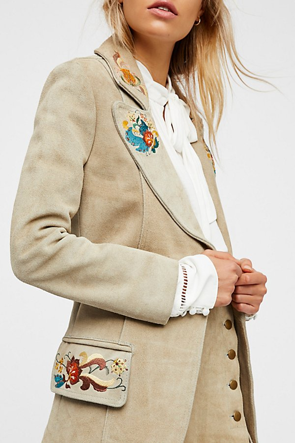 Slide View 3: Embroidered Blazer
