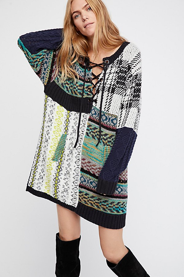 Slide View 1: Slope Life Sweater Dress
