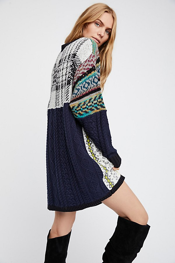 Slide View 2: Slope Life Sweater Dress