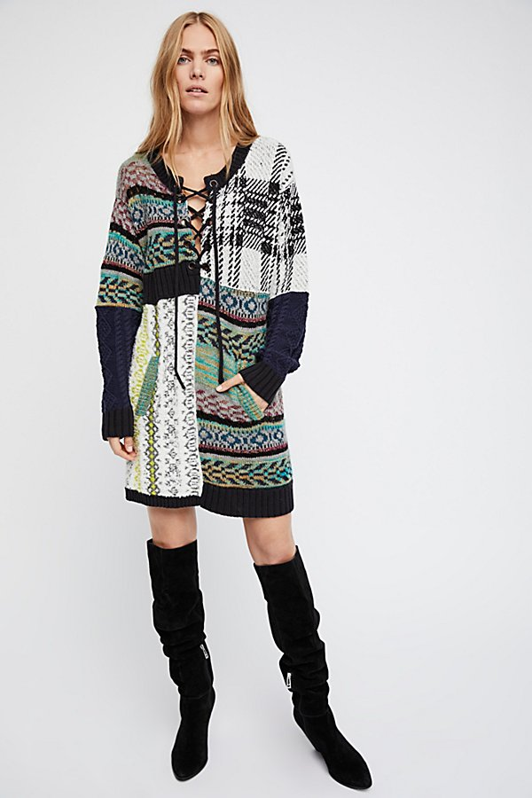 Slide View 4: Slope Life Sweater Dress